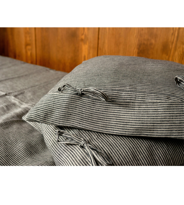 pillowcase nature black bows