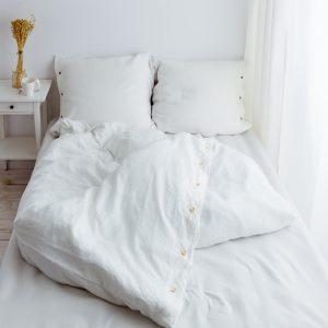 bedding duvet cover white