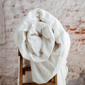 NPW children's duvet cover white