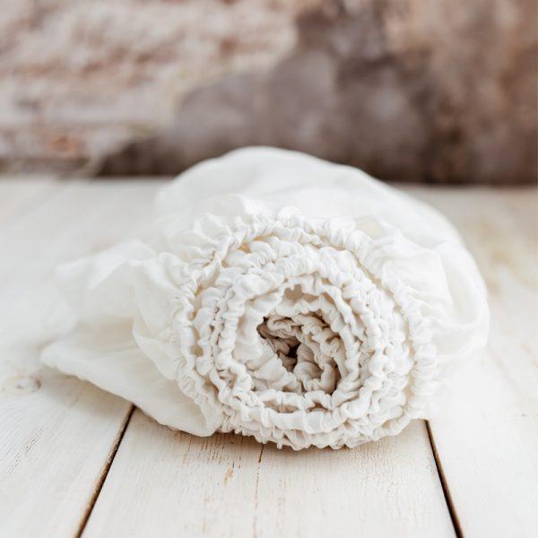 Öko-Tex certified children's sheets white grey