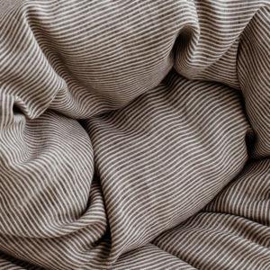 linen fabric nature black