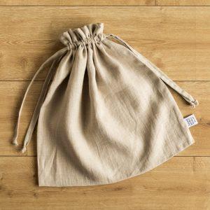 Bag nature linen