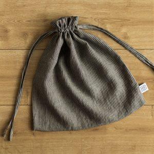 linen bag nature black