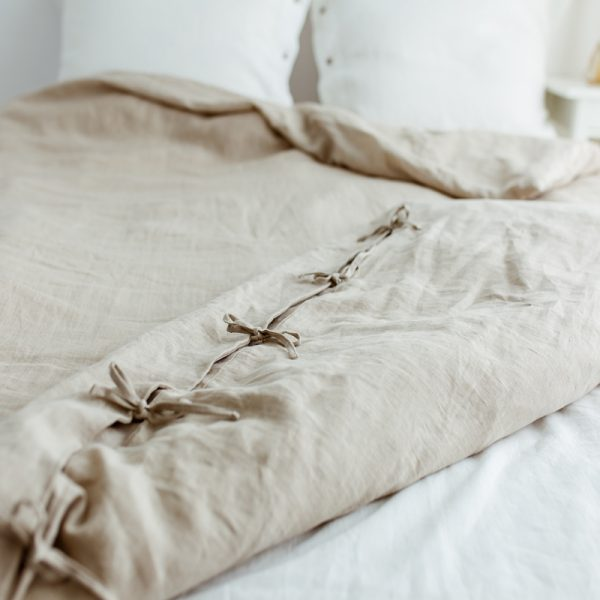 High-Quality duvet cover nature linen