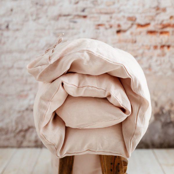 Duvet cover tender rose
