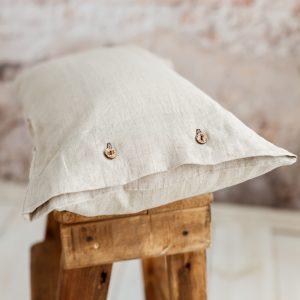 Handmade pillowcase nature