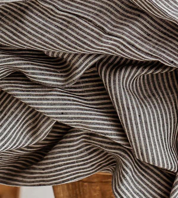 linen sheets nature black