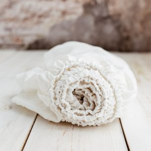 linen sheets white