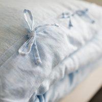 linen children's bedding